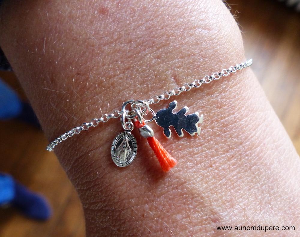 Bracelet Veillez sur ma famille