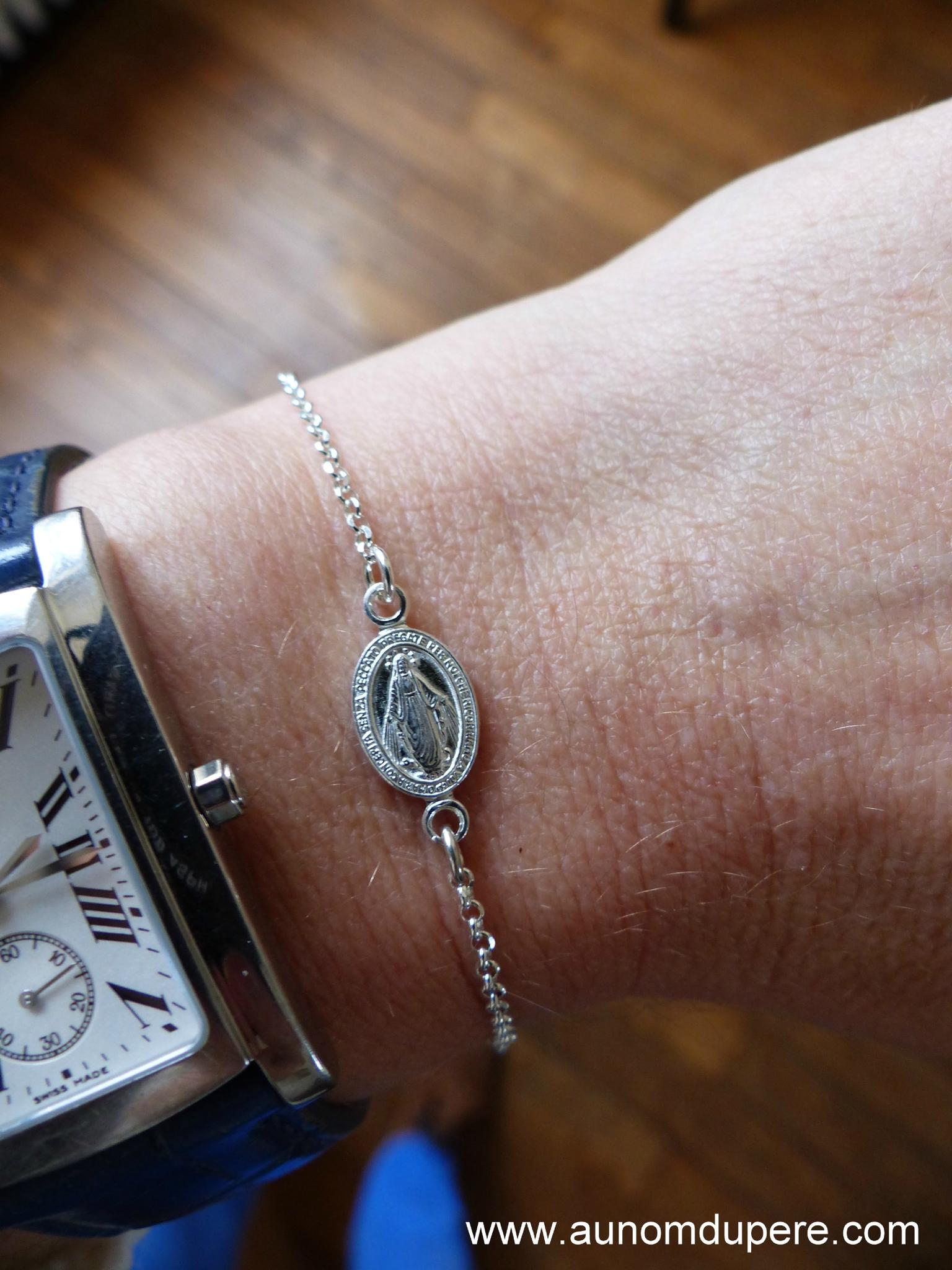 en soldes 3e36f 7d998 Bracelet Médaille miraculeuse