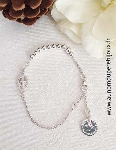 Bracelet Dizainier - en argent 925 ou en plaqué or 3 microns