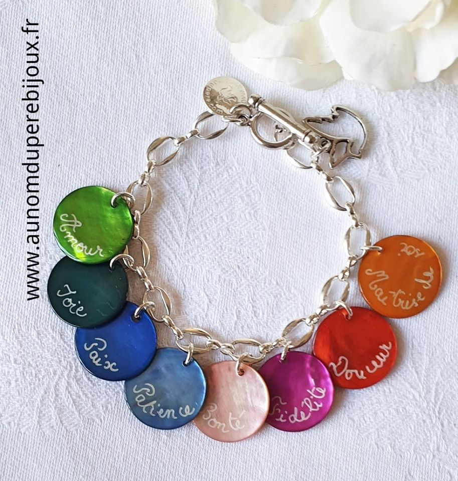 Bracelet Fruits de l'Esprit Saint